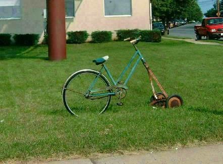 Redneck Lawnmower