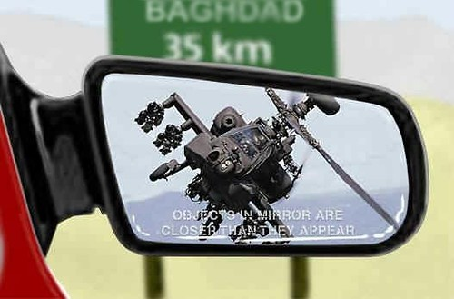 Driving in Iraq can be fun !