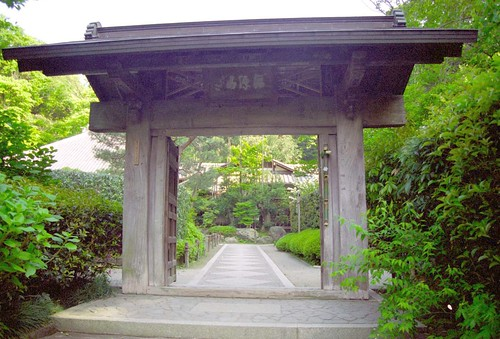 Gate of Meigetsuin - 明月院の山門 | by nyanchew