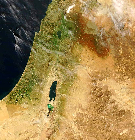 israel_satellite_image