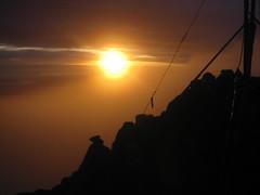 Dawn at 4509m