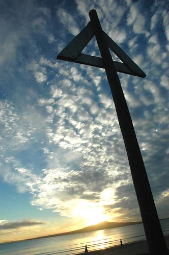 Sunrise Takapuna Beach