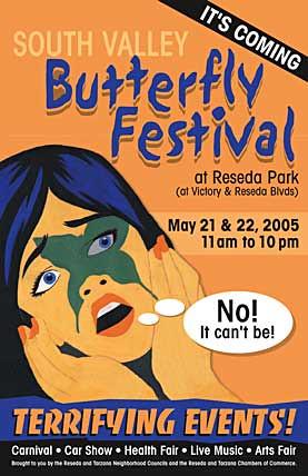 Butterfly Festival in Reseda Park