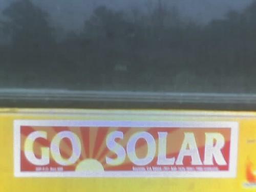 Go solar bus