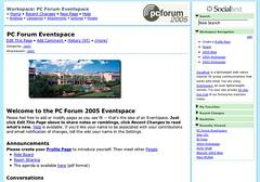 PC Forum Eventspace