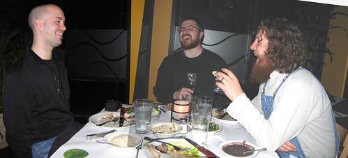 Rob, Steve, Kev, Ipanema Brazilian Grill, Seattle, WA