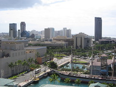 view of hawii from the aloha tower