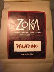 Zoka Espresso Paladino