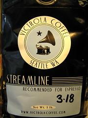 Victrola Streamline espresso