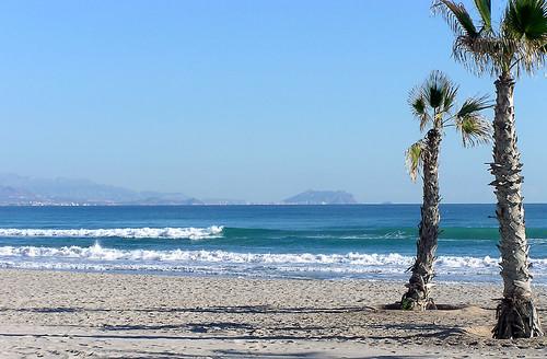 La Playa en Navidad