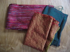 Fabric for Knitting Needles