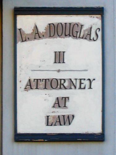 L.A. Douglas, Attorney | by Lance McCord