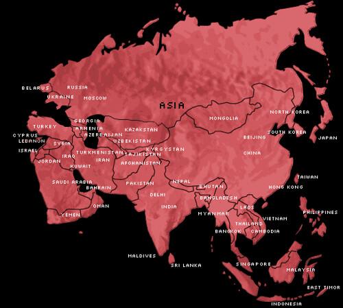 Map Of Asia Jordan.Map Asia Enter Asia Slideshow Me Afghanistan 60 Armen Flickr