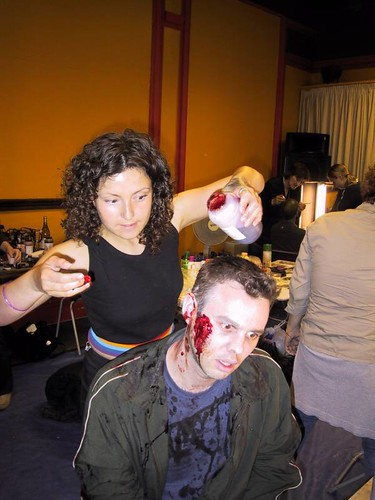 Shaun of the Dead: Graham getting made up | by Luke Robinson