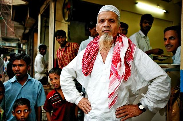defiant man in dhakka
