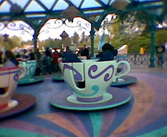 Spinning in the teacups