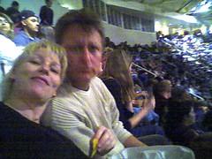 Michael and tinna at u2 concert in san jose