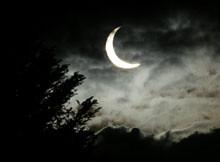 Eclipse en Caracas