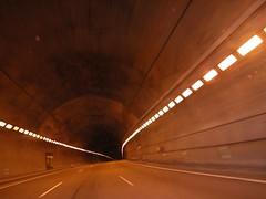 Túnel en la montaña
