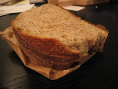 Excellent bread from the Transilvania Bakery on Broadway - 2