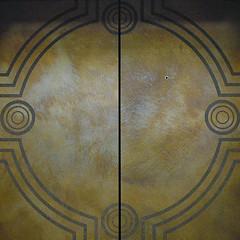 squared circle - elevator doors