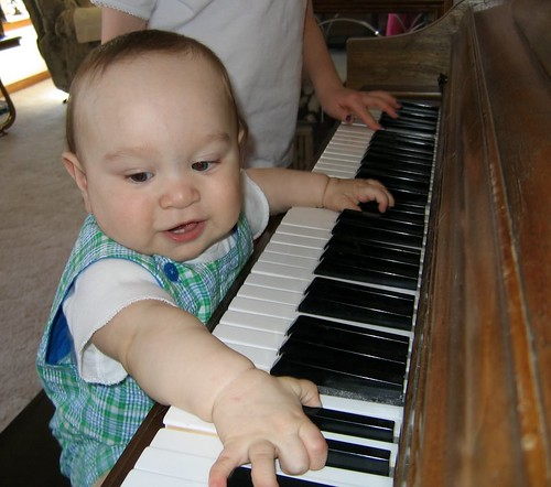 Piano Virtuoso in Training