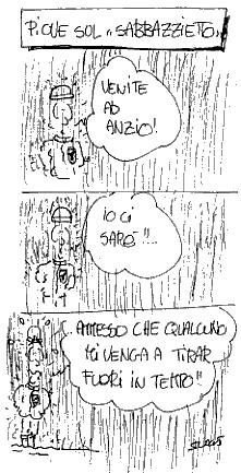 Piove sul Sabbazzietto