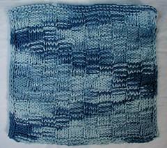 blue washcloth 04.05