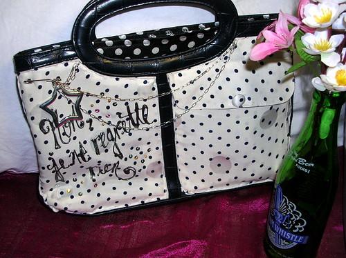 Paris bag front