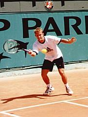 Thomas Johansson, eget foto French Open 2000