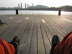 meine Beine im Century Park