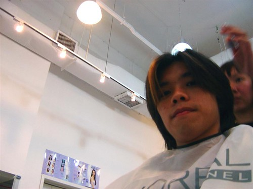 The fateful haircut
