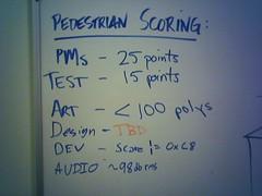 Table tennis scoring