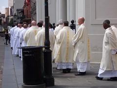 The mass for Pope John Paul II
