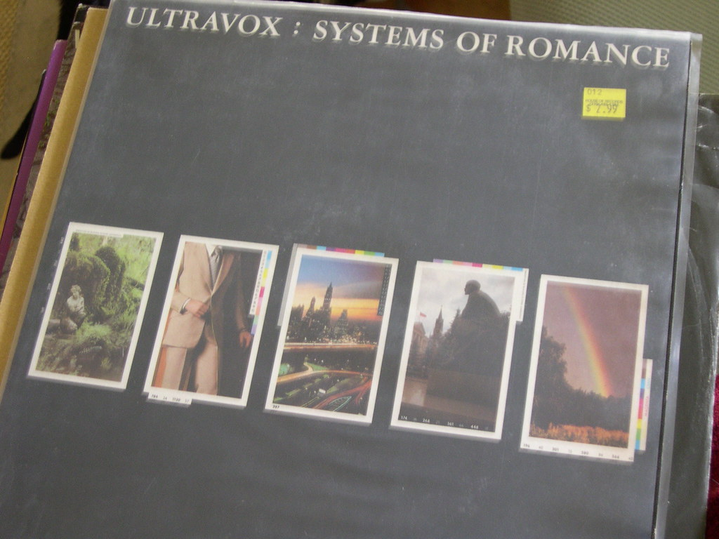 Systems of Romance - Ultravox  | 1978 and pre - Midge Ure an