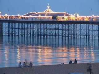Evening near the pier   by Elsie esq.
