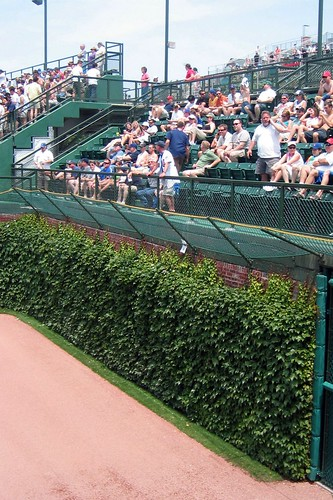 Chicago: Wrigley Field - Right Field Ivy and Bleachers | by wallyg