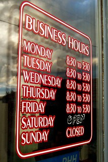 Open for business | by mhofstrand