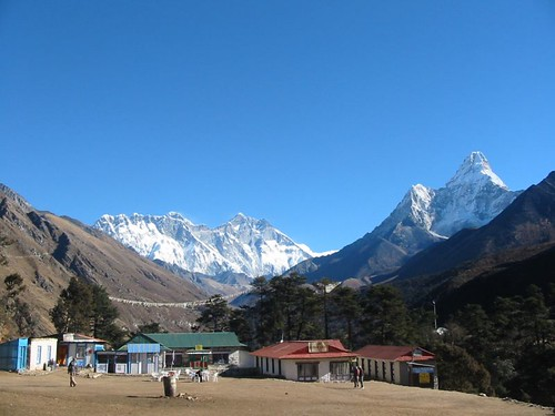 Tengboche, looking towards Mt Everest