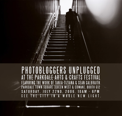 Photobloggers Unplugged @ the Parkdale Art Fest | by tanjatiziana