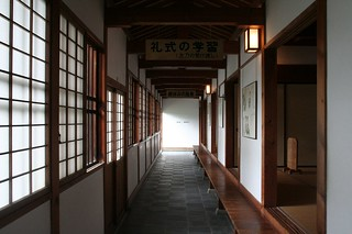 Samurai school corridor | by gluemoon