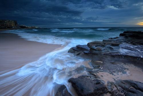 australia newsouthwales newcastle muloobinbah seascape nikond750 nikon1635mmf4 rocks watermovement overcast