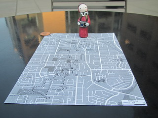 Portland City Walks No. 16 - Map