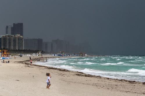 travel usa cloud beach florida miami