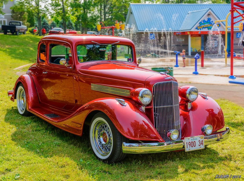 1934 Pontiac coupe | 2015 Atlantic Nationals, Moncton, New B