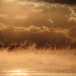Penobscot Bay Sea Smoke at Dawn