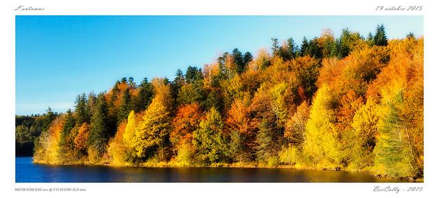 Couleurs d'automne - Lac la Crégut [Cantal]