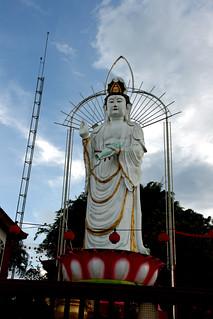 001 The Goddess, Lim Fah San Monastery, Kuching, Sarawak   by davidvictor513