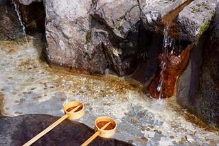 立山玉殿の湧水 / Tateyama Tamadono Spring Water | by Kentaro Ohno