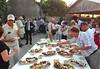 Abendbuffet für die Gäste organisiert vom Forum der Billeder Deutschen